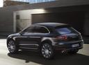 Фото авто Porsche Macan 1 поколение, ракурс: 135 цвет: черный