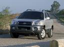 Фото авто Hyundai Santa Fe SM [рестайлинг],  цвет: серебряный
