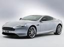 Фото авто Aston Martin DB9 1 поколение [2-й рестайлинг], ракурс: 45 цвет: серый