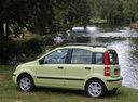 Фото авто Fiat Panda 2 поколение, ракурс: 90
