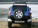 Фото авто Toyota FJ Cruiser 1 поколение, ракурс: 180 цвет: синий