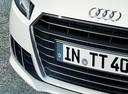 Фото авто Audi TT 8S, ракурс: передняя часть цвет: белый