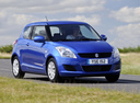 Фото авто Suzuki Swift 4 поколение, ракурс: 315 цвет: синий