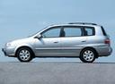 Фото авто Kia Carens 2 поколение, ракурс: 90