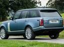 Фото авто Land Rover Range Rover 4 поколение [рестайлинг], ракурс: 135 цвет: голубой