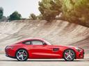 Фото авто Mercedes-Benz AMG GT C190, ракурс: 270 цвет: красный