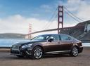 Фото авто Lexus LS 4 поколение [2-й рестайлинг], ракурс: 45 цвет: бронзовый