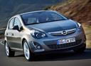Фото авто Opel Corsa D [рестайлинг], ракурс: 315 цвет: серый