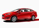 Фото авто Ford Fiesta 6 поколение [рестайлинг], ракурс: 45 - рендер цвет: красный