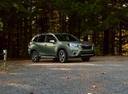 Фото авто Subaru Forester 5 поколение, ракурс: 315 цвет: зеленый