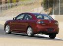 Фото авто Mazda 3 BK [рестайлинг], ракурс: 135 цвет: красный