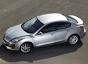 Фото авто Mazda 3 BL [рестайлинг], ракурс: сверху цвет: серебряный