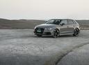 Фото авто Audi RS 3 8VA [рестайлинг], ракурс: 45 цвет: серый