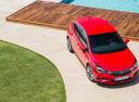 Фото авто Opel Astra K, ракурс: сверху цвет: красный