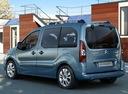 Фото авто Citroen Berlingo 2 поколение, ракурс: 135 цвет: голубой
