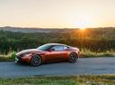 Фото авто Aston Martin DB11 1 поколение, ракурс: 90 цвет: оранжевый