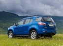 Фото авто Chevrolet TrailBlazer 2 поколение, ракурс: 135 цвет: синий