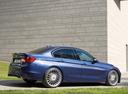 Фото авто Alpina B3 F30/F31, ракурс: 270 цвет: синий