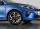 Фото авто Kia Cee'd 3 поколение, ракурс: передняя часть цвет: синий