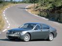 Фото авто BMW 7 серия E65/E66, ракурс: 45 цвет: серый