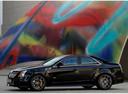 Фото авто Cadillac CTS 2 поколение, ракурс: 90 цвет: черный