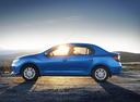 Фото авто Renault Logan 2 поколение, ракурс: 90 цвет: синий