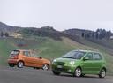 Фото авто Kia Picanto 1 поколение, ракурс: 90 цвет: зеленый