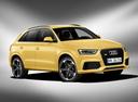 Фото авто Audi RS Q3 8U, ракурс: 315 цвет: желтый