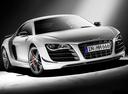 Фото авто Audi R8 1 поколение, ракурс: 315 цвет: серебряный