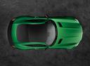 Фото авто Mercedes-Benz AMG GT C190 [рестайлинг], ракурс: сверху цвет: зеленый