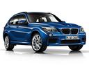 Фото авто BMW X1 E84 [рестайлинг], ракурс: 315 цвет: синий