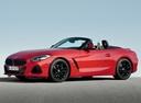 Фото авто BMW Z4 G29, ракурс: 45 цвет: красный