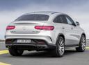 Фото авто Mercedes-Benz GLE-Класс W166/C292, ракурс: 225 цвет: серебряный