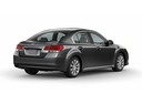 Фото авто Subaru Legacy 5 поколение, ракурс: 225 цвет: серый