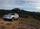 Фото авто Ford Explorer 5 поколение, ракурс: 45 цвет: серебряный