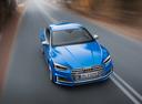 Фото авто Audi S5 F5, ракурс: 315 цвет: голубой