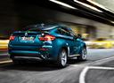 Фото авто BMW X6 E71 [рестайлинг], ракурс: 225 цвет: синий