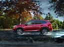 Фото авто Subaru Forester 5 поколение, ракурс: 90 цвет: красный