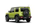 Фото авто Suzuki Jimny 4 поколение, ракурс: 135 - рендер цвет: зеленый