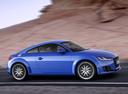 Фото авто Audi TT 8S, ракурс: 270 цвет: синий