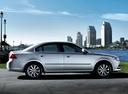 Фото авто Kia Magentis 2 поколение [рестайлинг], ракурс: 270 цвет: серебряный