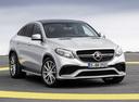 Фото авто Mercedes-Benz GLE-Класс W166/C292, ракурс: 315 цвет: серебряный