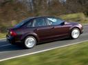 Фото авто Ford Focus 2 поколение [рестайлинг], ракурс: 270 цвет: коричневый