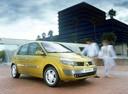 Фото авто Renault Scenic 2 поколение, ракурс: 315 цвет: желтый