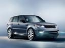 Фото авто Land Rover Range Rover Sport 2 поколение, ракурс: 315 цвет: серый