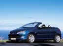 Фото авто Peugeot 206 1 поколение [рестайлинг], ракурс: 45 цвет: синий