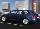 Фото авто Audi A6 4F/C6, ракурс: 90 цвет: синий