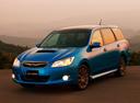 Фото авто Subaru Exiga 1 поколение, ракурс: 45 цвет: синий
