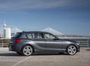 Фото авто BMW 1 серия F20/F21 [рестайлинг], ракурс: 270 цвет: серый
