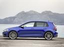 Фото авто Volkswagen Golf 7 поколение [рестайлинг], ракурс: 90 цвет: синий